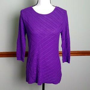 New Dana Buchman size small sweater